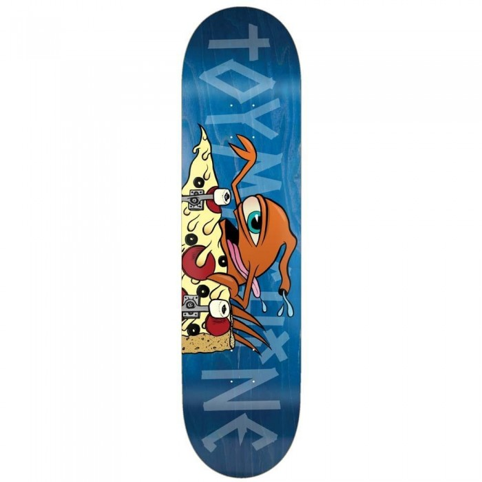 Toy Machine Skateboards Pizza Sect Skateboard Deck Multi 7.75""