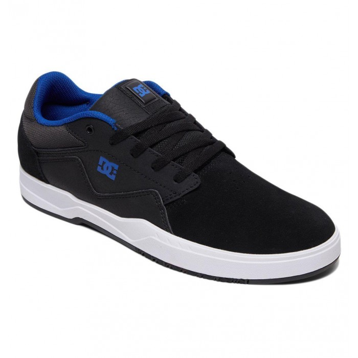 DC Shoe Co Barksdale Black Grey Blue Skate Shoes