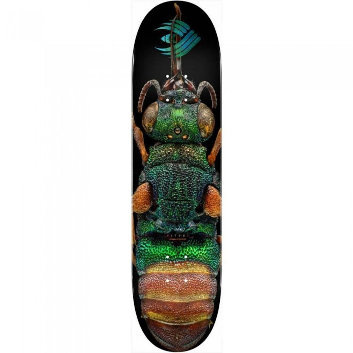 """Powell Peralta Ruby Tailed Wasp 244 Skateboard Deck Multi 8.5"""""""