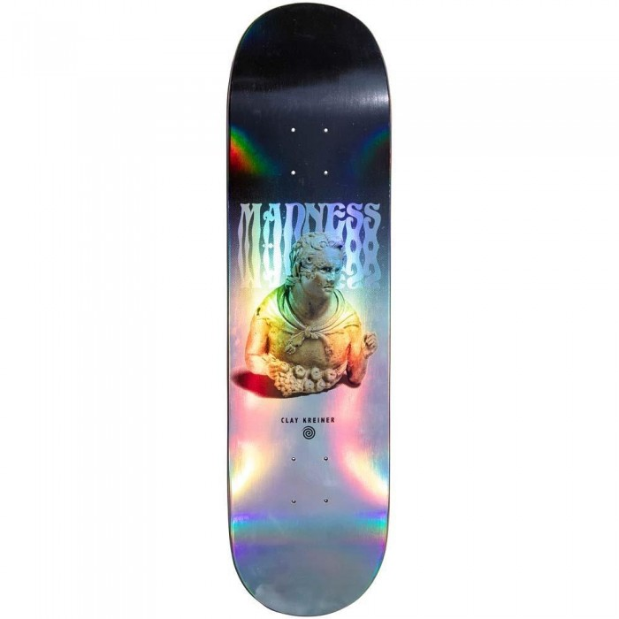 """Madness Clay Tantrum Impact Light Skateboard Deck Holographic 8.25"""""""
