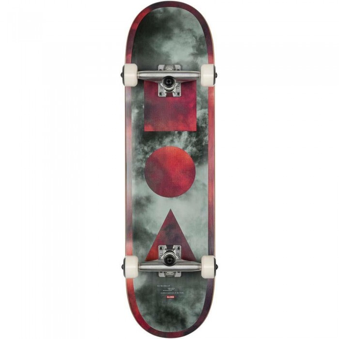 """Globe G1 Stack Factory Complete Skateboard Black Candy Clouds 8.375"""""""