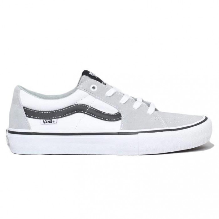 Vans Sk8-Low Pro Mirage White Skate Shoes