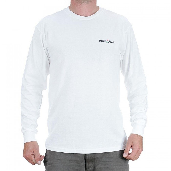 Vans x Peels Long Sleeved T-Shirt White