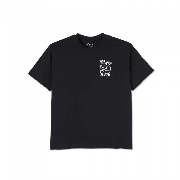 Polar Skate Co Big Boy Club T-Shirt Black