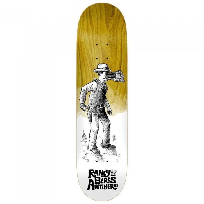 """Anti Hero Raney How The West Skateboard Deck Various Wood Stains 8.25"""""""