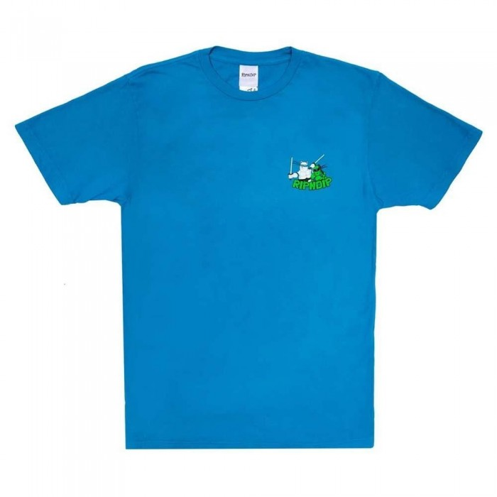 Rip N Dip Teenage Mutant T-Shirt Blue