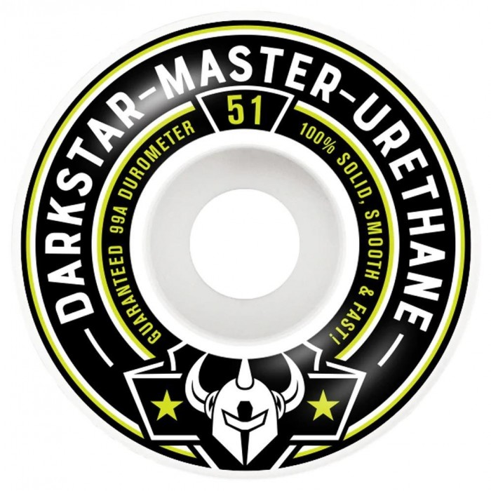 Darkstar Responder Skateboard Wheel 51mm Lime