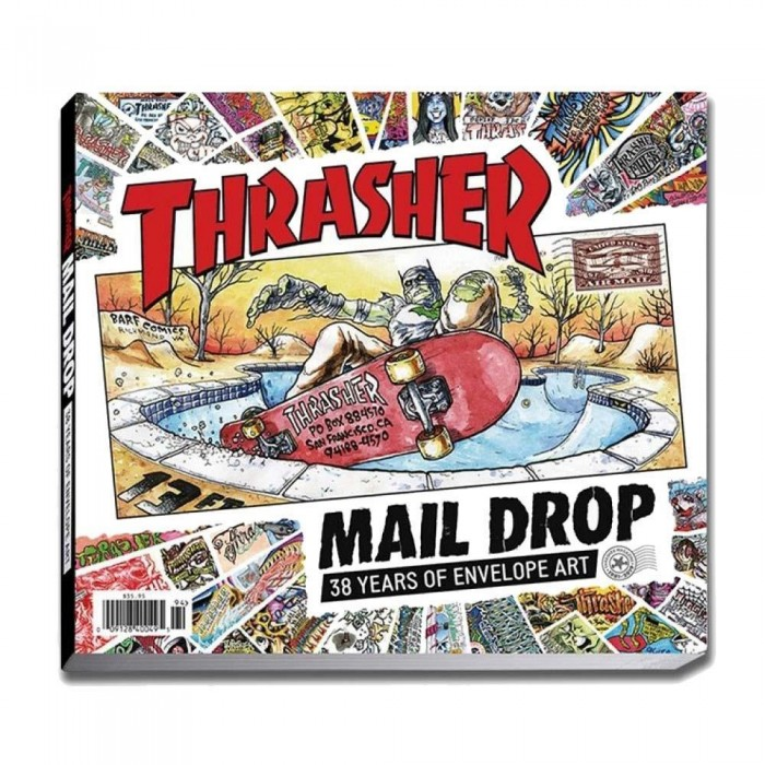 Thrasher Book Mail Drop Book O/S