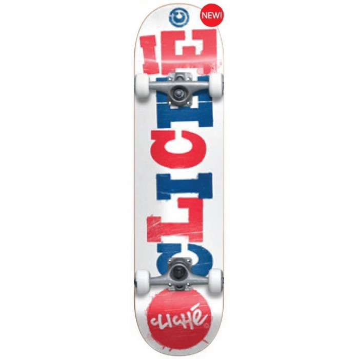 Cliche Skate Complet Floral Factory Green 8.1