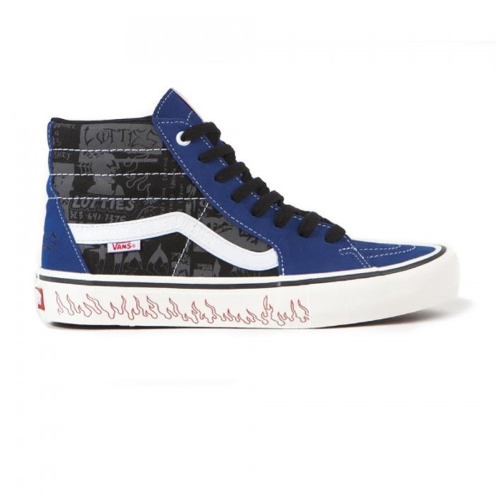 Vans x Lotties Sk8-Hi Pro LTD Blue Black Skate Shoes