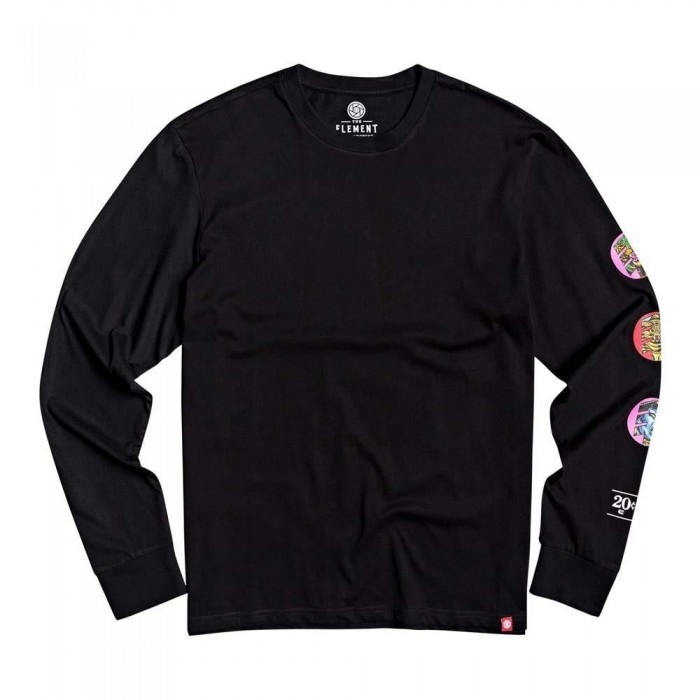 Element Triple Long Sleeved T-Shirt Flint Black