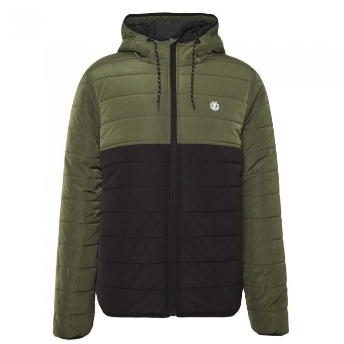 Element Alder Fundamental Puff Jacket Flint Black