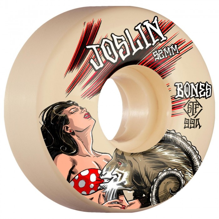 Bones Wheels STF Joslin Goat 52 V3 Slims 99a White 52mm