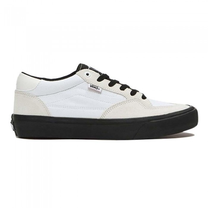 Vans Rowan Pro White Black Skate Shoes