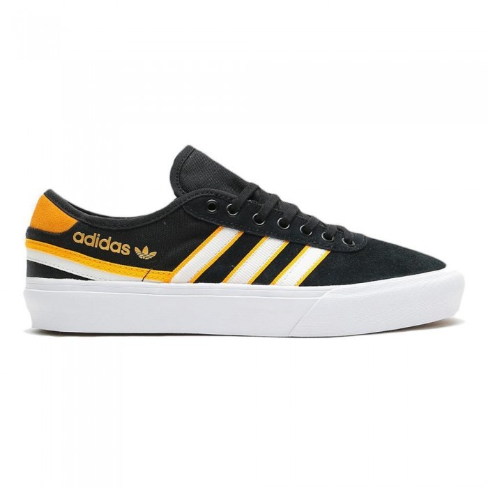 Adidas Skateboarding Delpala Premiere Core Black Skate Shoes