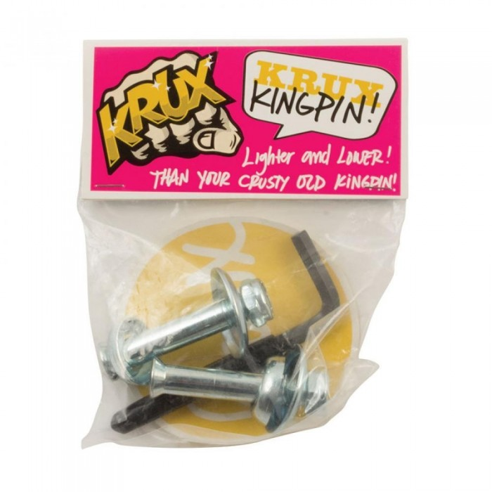 Krux Trucks K5 Down Low Kingpin Silver