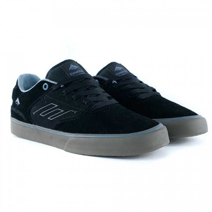 Emerica Footwear Reynolds Low Vulc Black Gum Grey