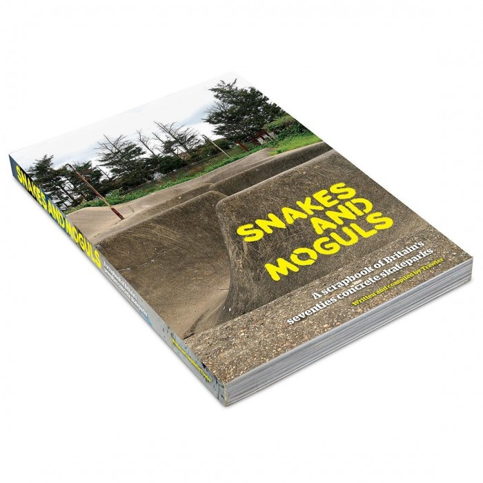 Snakes And Moguls Skateboard Book By Trawler