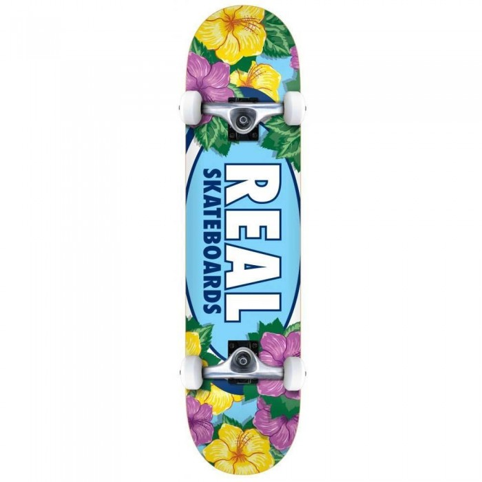 Real Oval Blossoms Factory Complete Skateboard Multi 8""