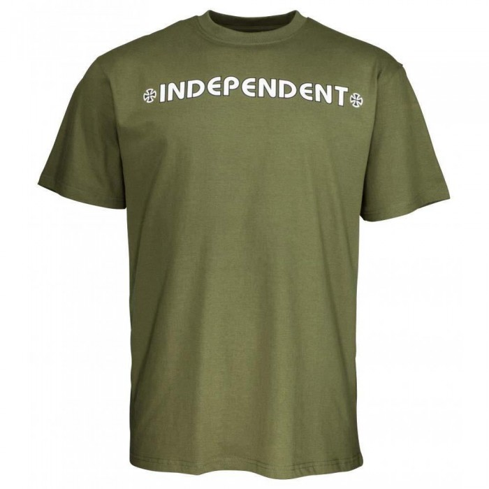 Independent Truck Co Bar Cross T-Shirt Army Green