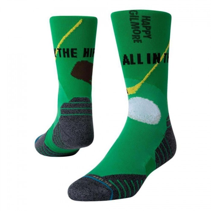Stance Socks Happy Gilmore Happy Hips Green Large