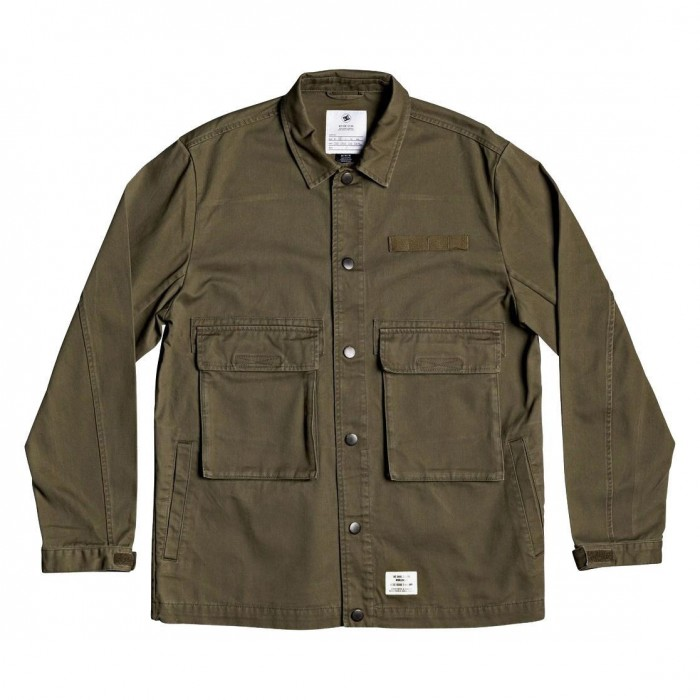 DC Shoe Co Admiral Jacket Fatigue Green