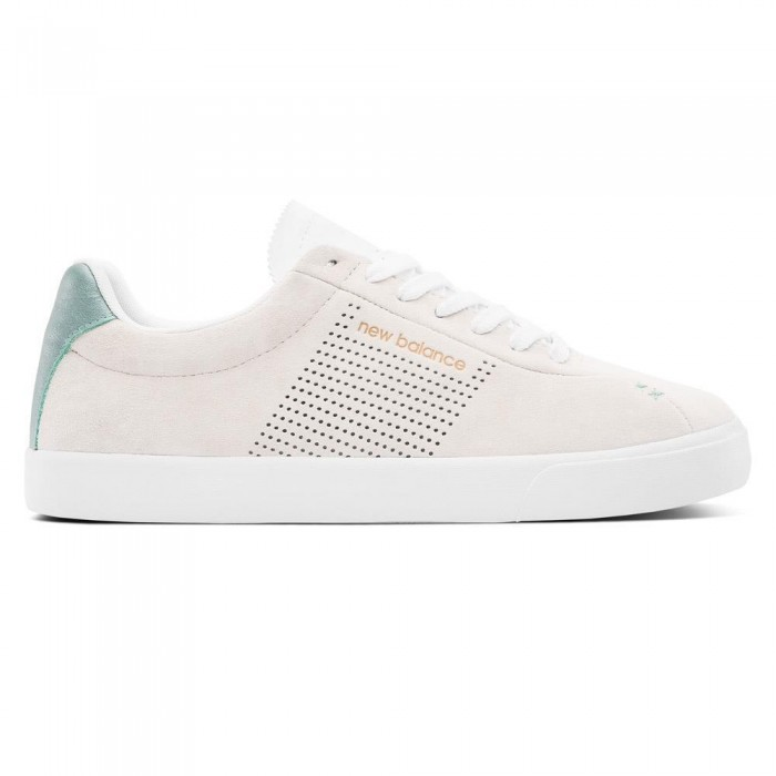 New Balance Numeric x Lost Art NM22 Off White Teal Skate Shoes