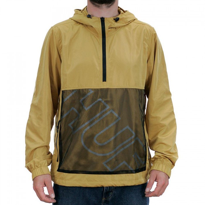 Huf Wire Frame Anorak Jacket Honey Mustard