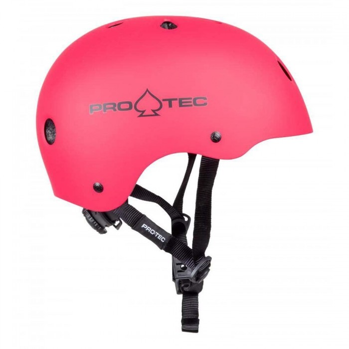 Pro-Tec Helmet JR Classic Fit Certified Matte Pink YOUTH