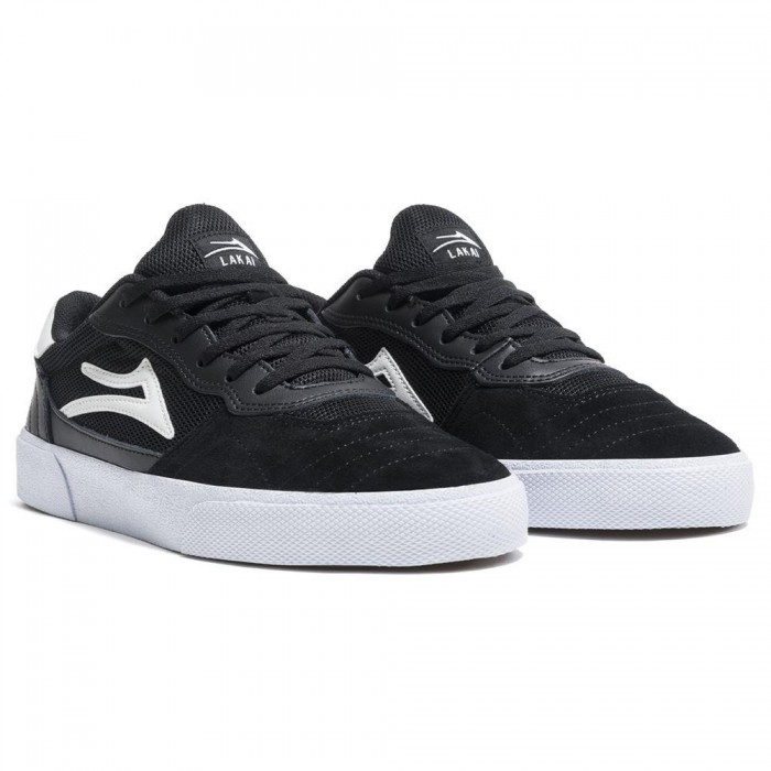 Lakai Footwear Cambridge Jovontae Turner Project Black White Suede new
