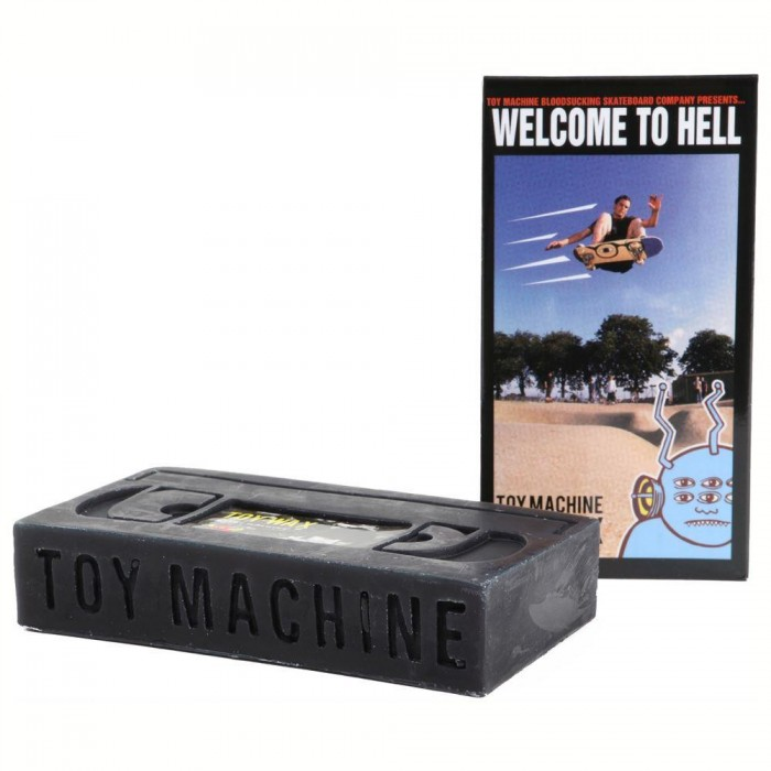 Toy Machine Skateboards VHS Skateboard Wax