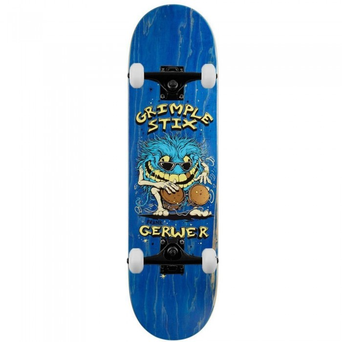 Anti Hero Grimple Gerwer Family Band Complete Skateboard Multi 8.38""