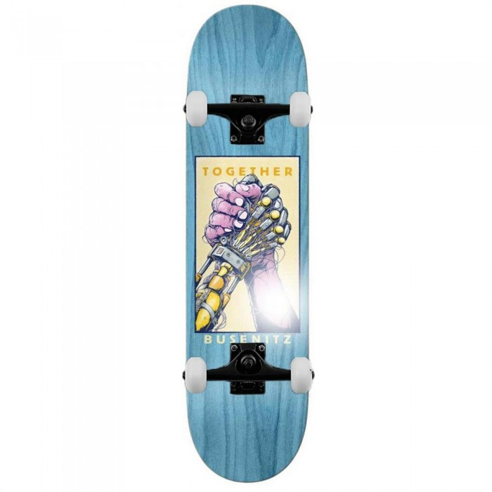 """Real Busenitz Together Complete Skateboard Various Wood Stains 8.25"""""""