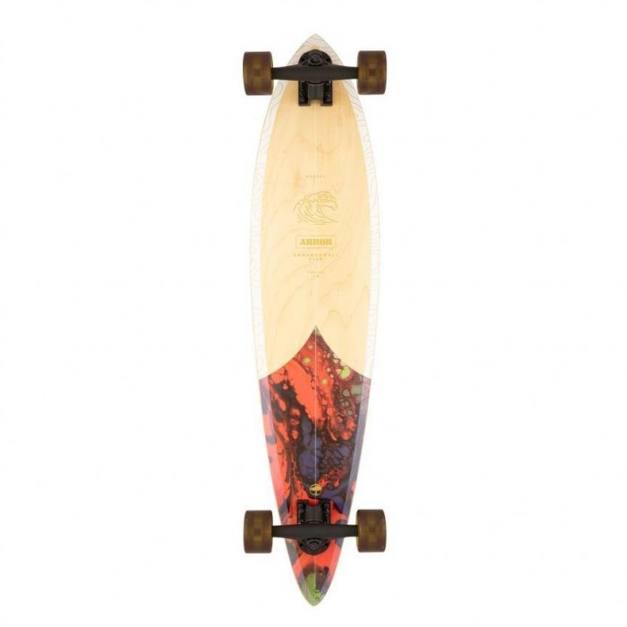 """Arbor Groundswell Fish Performance Factory Complete Skateboard Multi 37"""""""