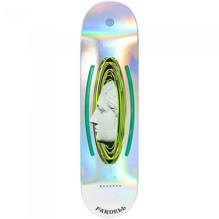 Madness Jack Fardell Escape Skateboard Deck Holographic 8.5""