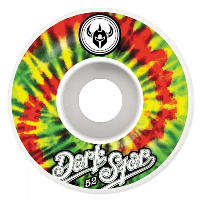 Darkstar Insignia Skateboard Wheels Rasta 52mm