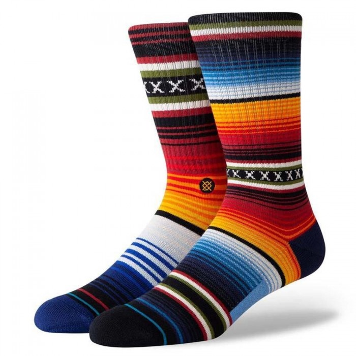Stance Socks Curren St Crew Red Large