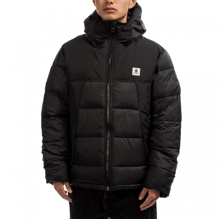 Element Dulcey Puff Jacket Flint Black