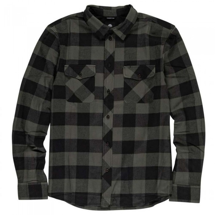 Element Tacoma Flannel Shirt Army