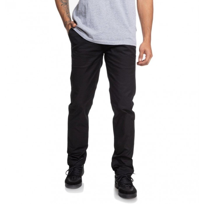 DC Shoes Worker Slim Fit Chino Pants Black