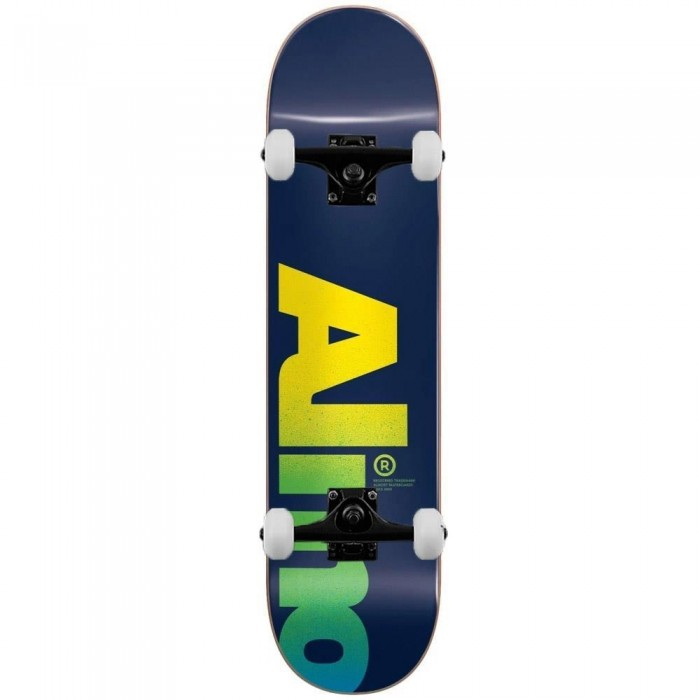 """Almost Fall Off Logo Complete Skateboard Blue 8.5"""""""