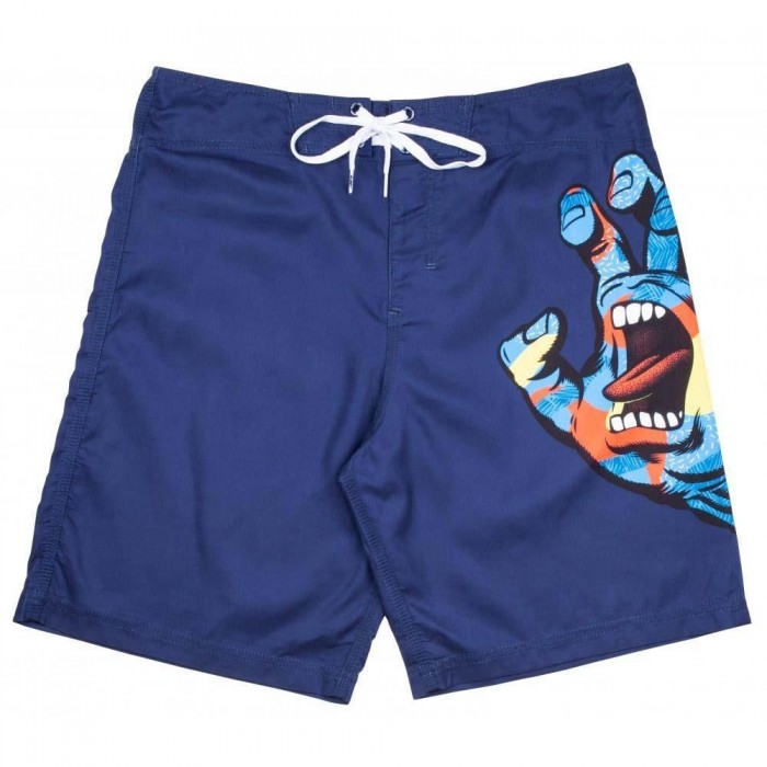 Santa Cruz Boardshorts Primary Hand Boardie Dark Navy