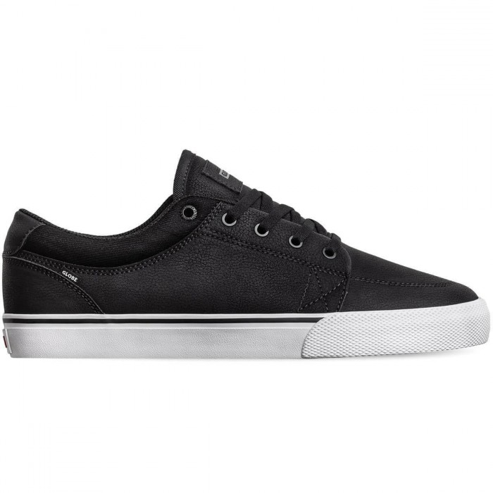 Globe Footwear GS Black Mock White Skate Shoes