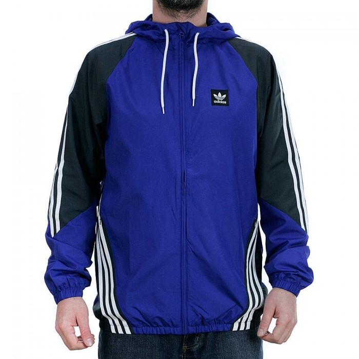 Adidas Skateboarding Insley Track Jacket Active Blue DGH Solid Grey White