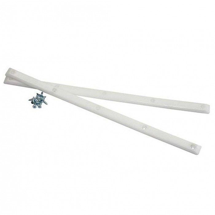 Pig Skateboard Rails White