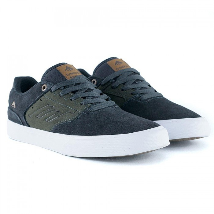 Emerica Footwear Reynolds Low Vulc Grey Green