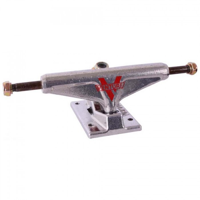 Venture 5.0 Low Skateboard Trucks Polished Silver 5""