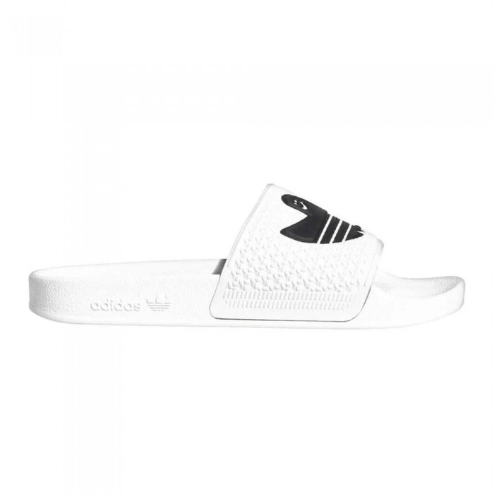 Adidas Skateboarding Shmoofoil Slide Feather White Sliders