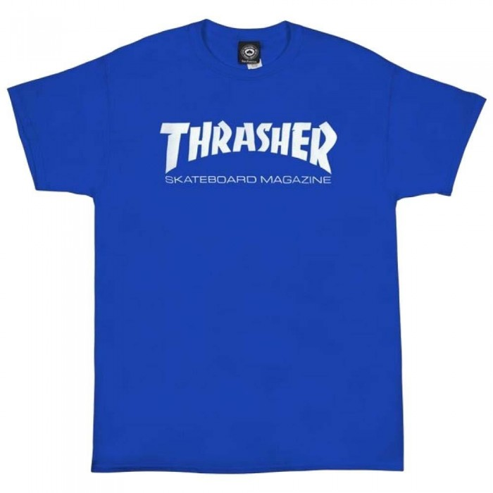 Thrasher Skate Mag T-Shirt Royal Blue