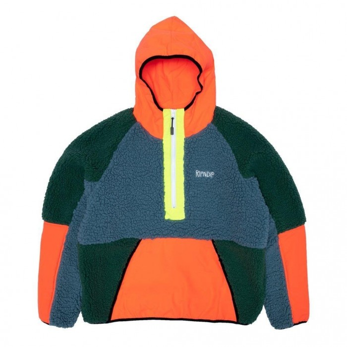 Rip N Dip Square Up Anorak Jacket Multi
